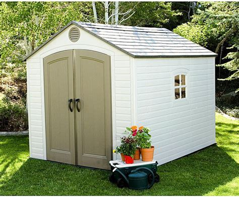 Lifetime Storage Shed 8x10 by Lifetime Outdoor Storage Shed 8 X 10