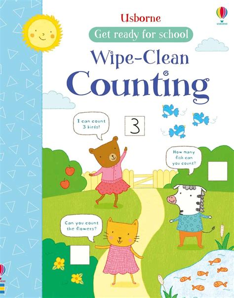 Numbers Learn To Write Wipe Clean Activity Book wipe clean counting at usborne children s books