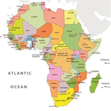 map of africa with country name revise the functions of nouns and pronouns worksheet edplace