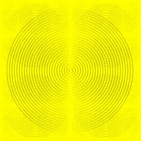 moire pattern gif yellow trick gif by psyklon find share on giphy