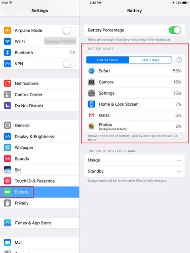 increase  ipads battery life   tips