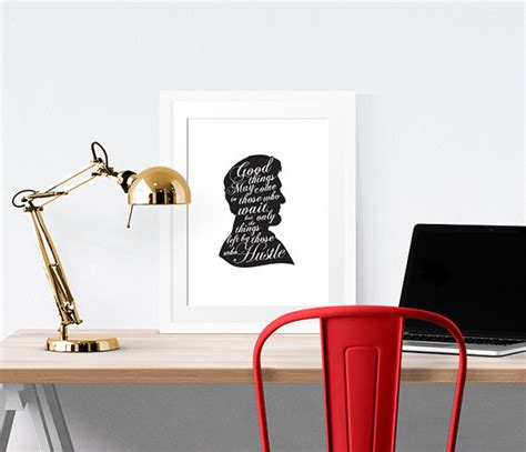 Mens Wall Decor by Wall Quotes Home Office Decor Mens Office By Nelladesigns