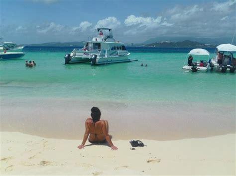 viajes en catamaran puerto rico icacos island jpg