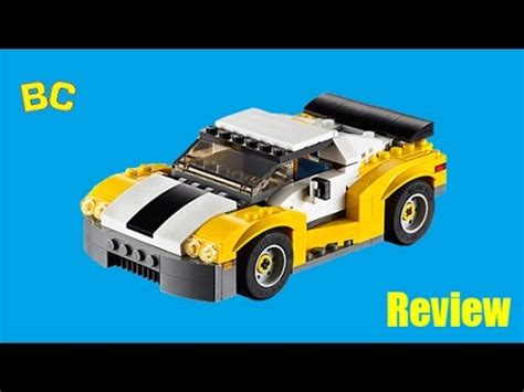 Lego Creator 3 In 1 31046 Fast Car Set Motorcar Truck Forklift Tractor lego creator 31046 fast car review 1 3