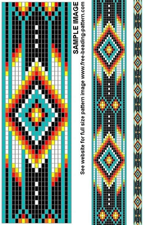free american beading patterns free american beadwork patterns belt bead pattern