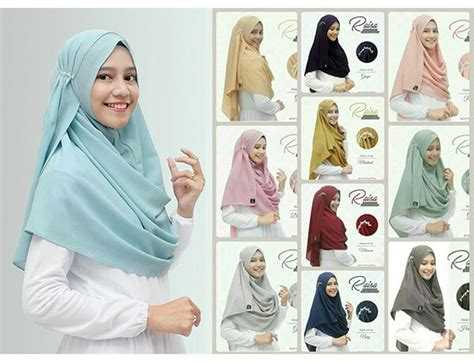 Grosir Instan Pashmina Jilbab Kerudung Pastan 1 Slup jilbab pashmina instan raisa high quality www ummigallery