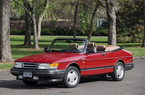 saab 900 convertible no reserve 1989 saab 900 turbo convertible 5 speed for