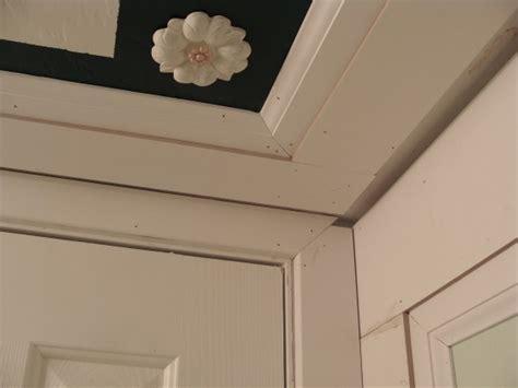 bathroom trim molding half bathroom renovation the hardest wall of all the