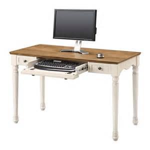 Antique White Office Desk Whalen Chelsea Collection Writing Desk 30 Quot H X 47 3 4 Quot W X 23 1 2 Quot D Antique White Sku 844180