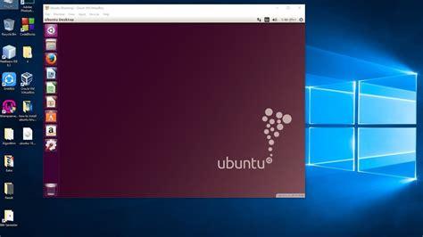 install  run ubuntu  windows  side  side
