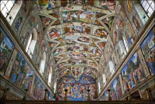What Is Painted On The Ceiling Of The Sistine Chapel by Artpedia Michelangelo The Sistine Chapel Ceiling And