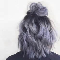 salt and pepper hair with lilac tips 1000 ideas sobre tintes para cabello de color azul en