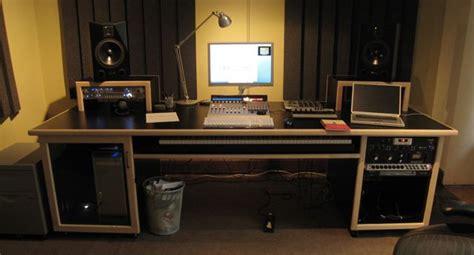 custom recording studio desk my custom built production desk with a sliding 88 key