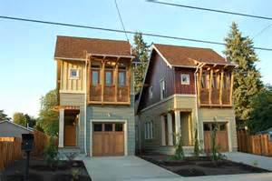 Home Design For Narrow Lot by Portland Oregon Living Smart Program Hud User