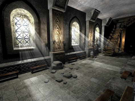 castle interior 3d model medieval castle interior vr ar low poly max