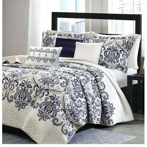 navy blue and grey bedding blue and gray quilts boltonphoenixtheatre com