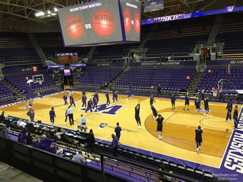 section 14 a alaska airlines arena washington seating guide