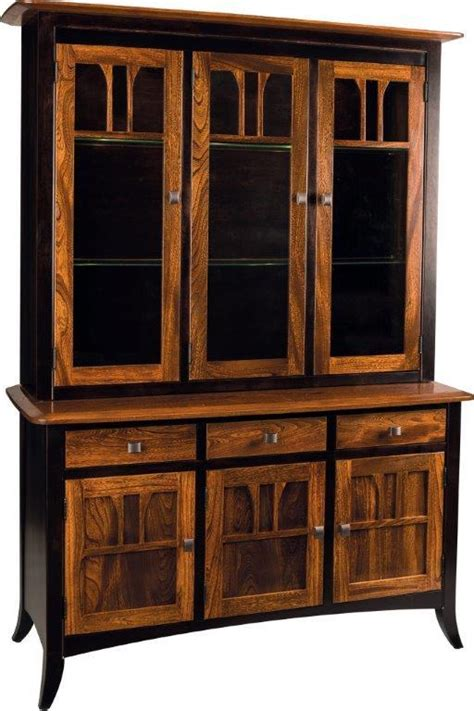Amish Dining Room Hutch Buffet Amish Hutch And Buffet