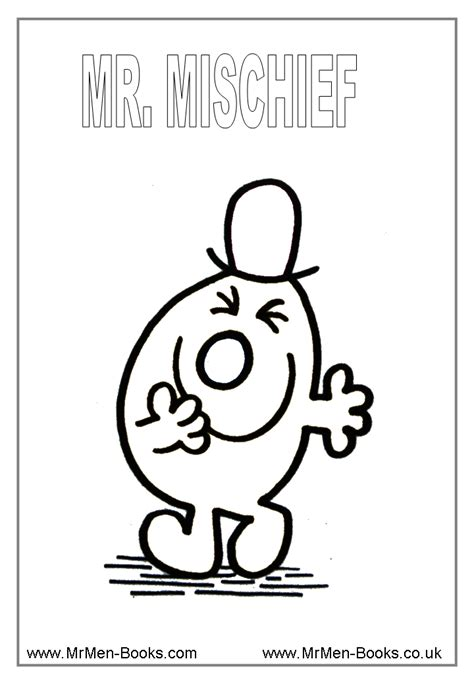 little miss and mr men coloring pages coloring home