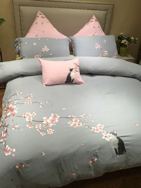 Cherry Blossom 1set Popular Cherry Blossom Bedding Set Buy Cheap Cherry