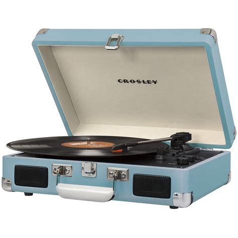 cruiser deluxe turntable crosley radio cruiser deluxe portable turntable cr8005d tu b h
