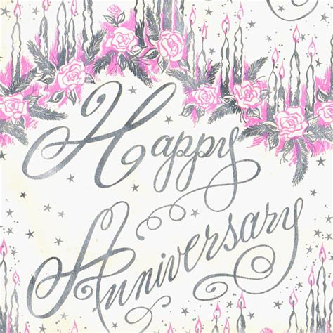 free printable anniversary wrapping paper items similar to vintage gift wrap anniversary 1960s