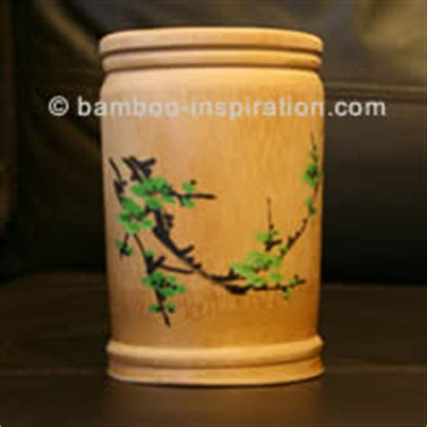 Bamboo Pots made from Bamboo   Plant in Pots or Containers