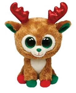 alpine reindeer beanie boo red amp green www ty toys green red green