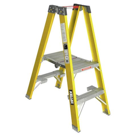 pt772 2 type i fiberglass platform ladder at menards 174