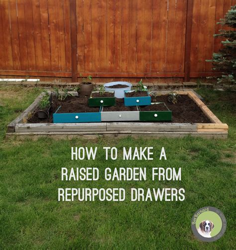 how to make title in grass vegetable garden of repurposed