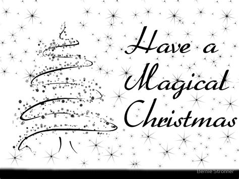 printable christmas cards in black and white quot black n white christmas card quot by bernie stronner redbubble