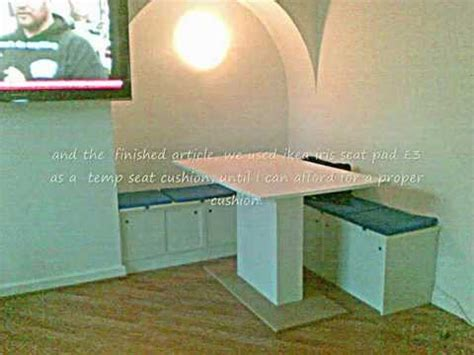 How To Build A Banquette Booth by Diy Banquette Booth Nook Seating For 163 70