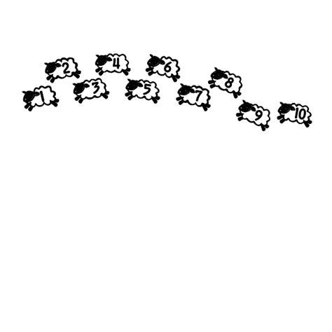 counting sheep coloring page counting sheep wall art decal