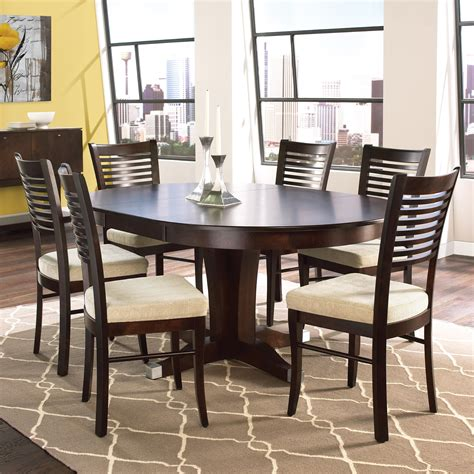 canadel dining room table canadel custom dining customizable table with leaf