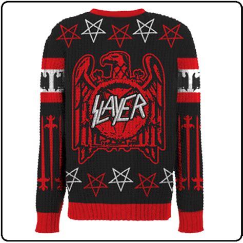 Megadeth Sweaters slayer eagle swords jumper pre order fashion