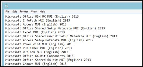 list of software get a list of software installed on your pc with a single