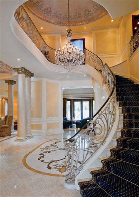 Classic Stairs Design Modern Interior Design In Neo Classic Style Beautiful Mansion In Beverly