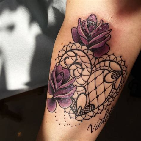 rose and hearts tattoos 25 best ideas about lace flower tattoos on
