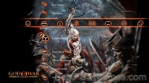 ps3 themes hd god of war god of war chains of olympus eclipse best ps3 themes