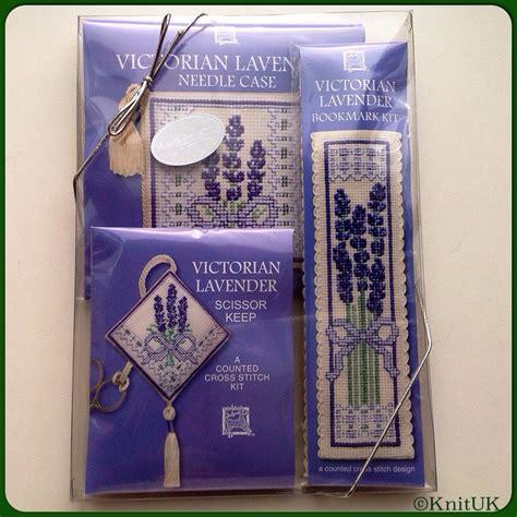 Souvenir Cross Pack Tas Anak cross stitch kit lavender gift pack textile heritage knituk