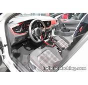 2018 VW Polo GTI Interior Dashboard At The IAA 2017