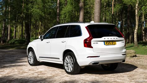 volvo xc uk spec inscription ice white rear hd wallpaper