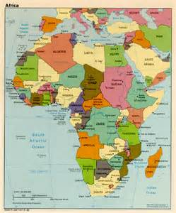 Countries Of Africa Map by Dover Sherborn Middle Africa