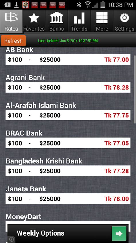 dollar rate in bangladesh bank dollar to taka exchange rates android apps on play