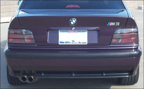 e36 inpro lights smoked taillight lenses