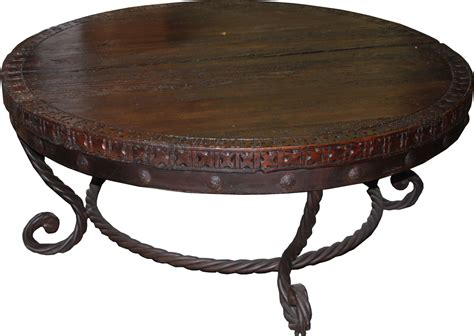 """47"""" Round Coffee Table, Heritage Collection @ Durango"""