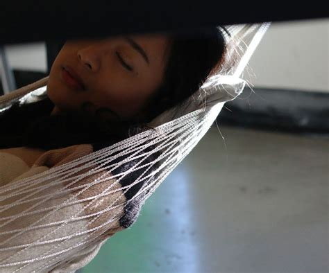 you can a nap your desk with this new hammock