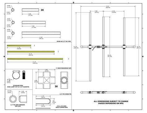 Pole Stik 2 5 Meter 2 meter beam with steel measure elements