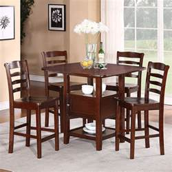 contemporary kitchen dinette sets contemporary kitchen 5pc dining set with storage