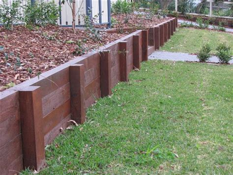 Home Design Center Brisbane by Treated Wood Retaining Wall Design Quotes